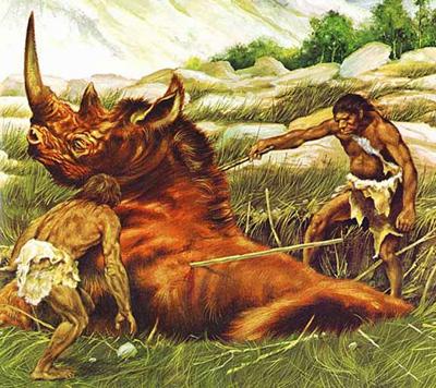 غذای انسان های اولیه چه بود؟